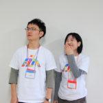 写真:サイモトコウタさん(左)とスタッフの沖本さん