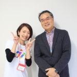 写真:濱田泰さん(右)とスタッフの吉澤さん(左)