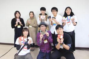 写真:参加者の皆さんと集合写真