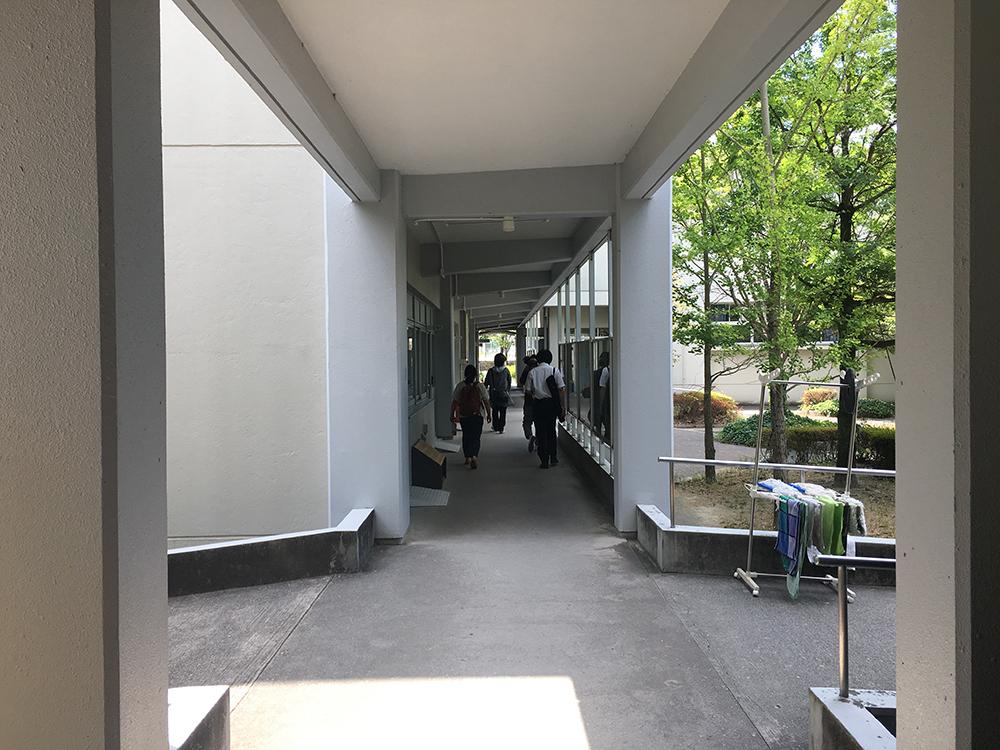 写真:クリエイティブハント会場の山口大学経済学部